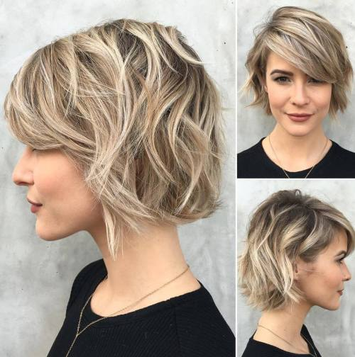 30 Best Short Hairstyles Haircuts 2019 Bobs Pixie Cuts Ombre