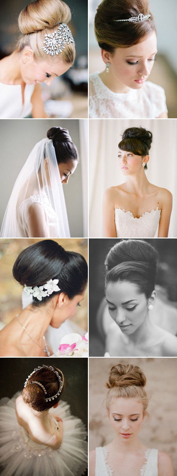 audrey-hepburn-style-classic-bun-wedding-updos