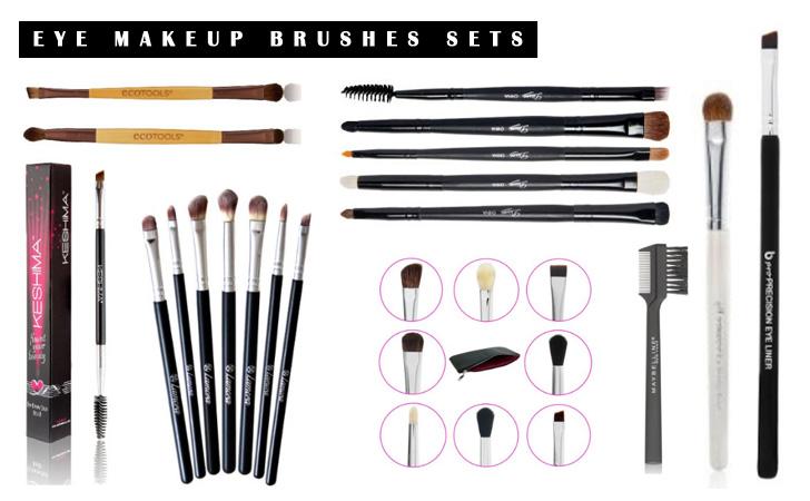 Best Eye Brushes Sets - Professional Brushes Sets & Kits
