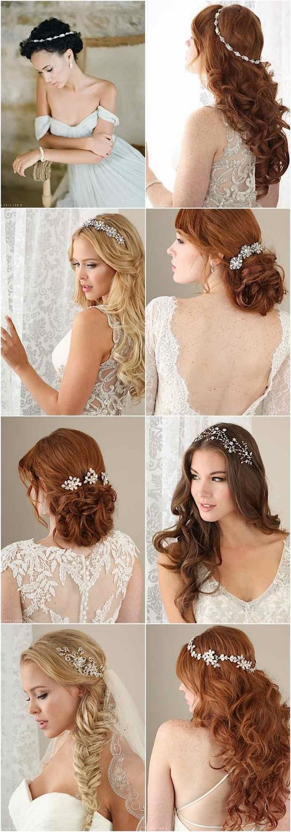 Cly And Elegant Wedding Hairstyles