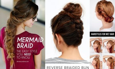 60 Easy Step By Step Hair Tutorials For Long Medium And Short Hair