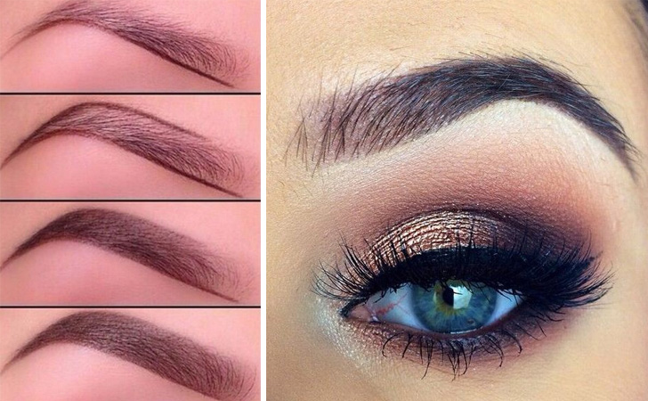 Color Eyebrows Naturally