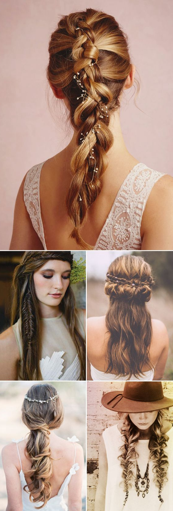 Natural Bohemian Braided Hairstyles