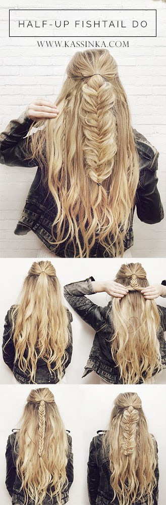 20 Easy Elegant Step By Step Hair Tutorials For Long Medium Hair