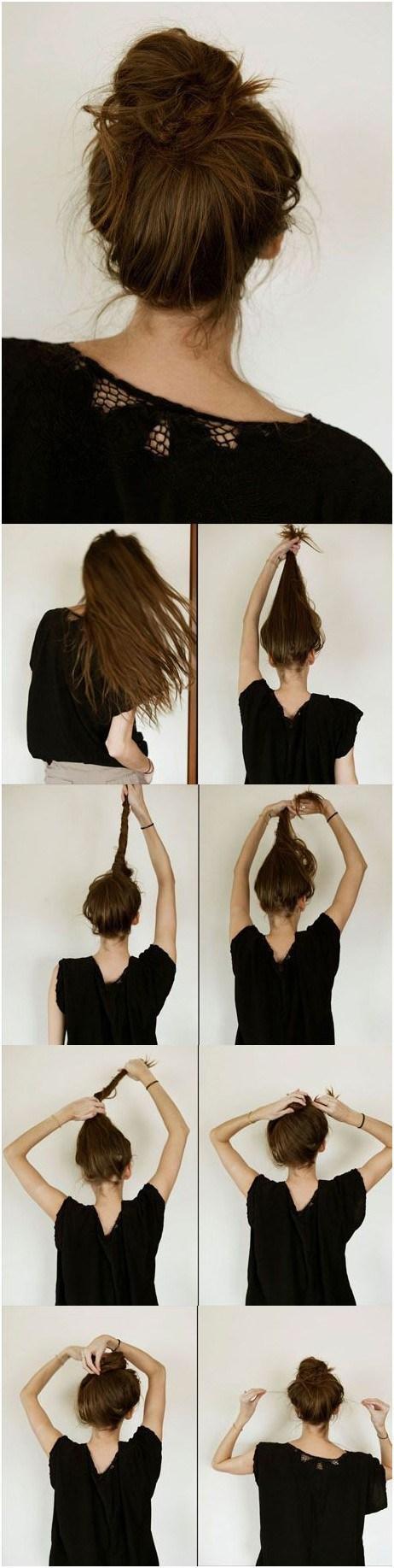 20 Easy Elegant Step-by-Step Hair Tutorials for Long & Medium Hair
