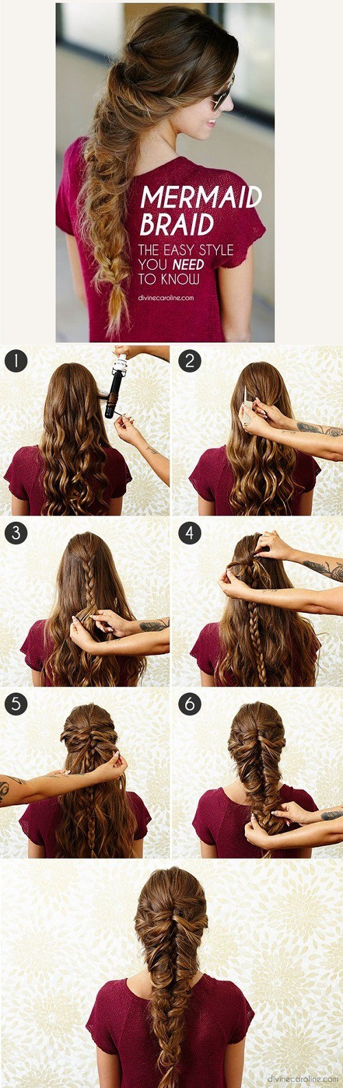 20 easy elegant stepbystep hair tutorials for long