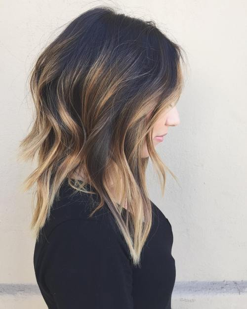 Medium Balayage Hairstyles