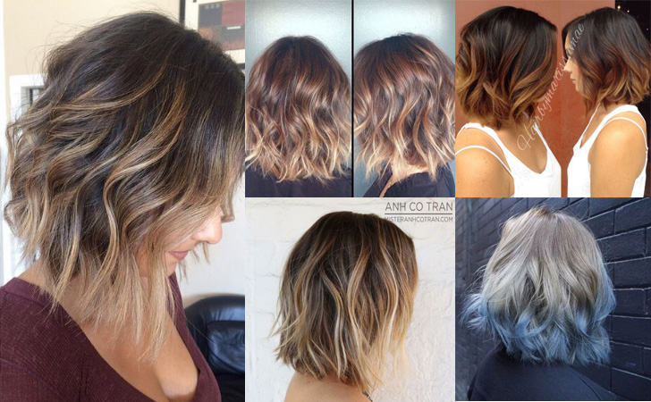 Hair Styles For Short Hair With Color: 35 Hottest Short Ombre Hairstyles For 2019