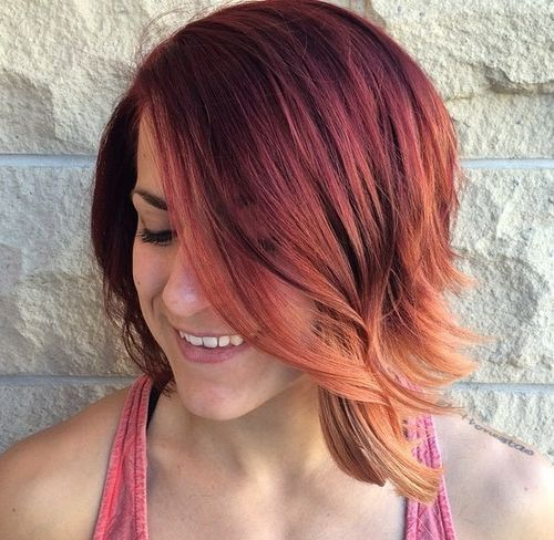 35 Hottest Short Ombre Hairstyles For 2019 Best Ombre Hair Color Ideas