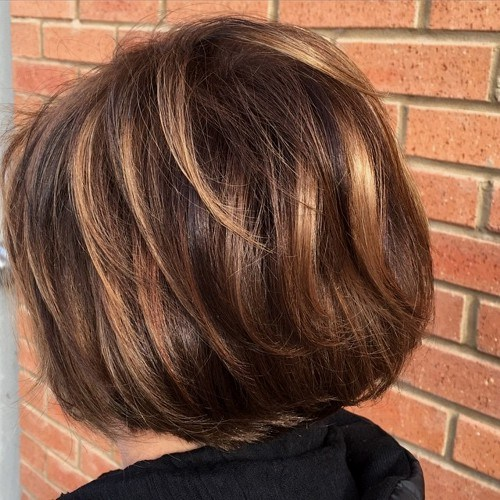 Short Hair Color And Highlights Lucie Doughty For