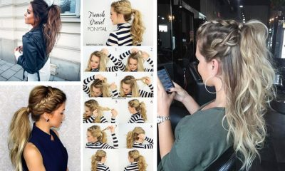 best-ponytails-for-long-medium-hair-straight-messy