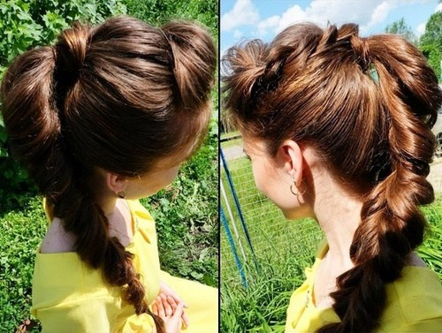 Cute Ponytails for Long & Medium Length Hair