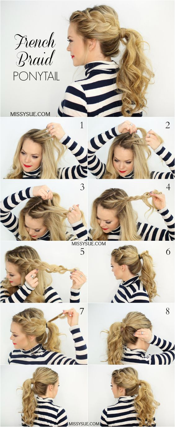 22 cute ponytails for long medium length hair straight messy cute ponytails for long medium length hair solutioingenieria