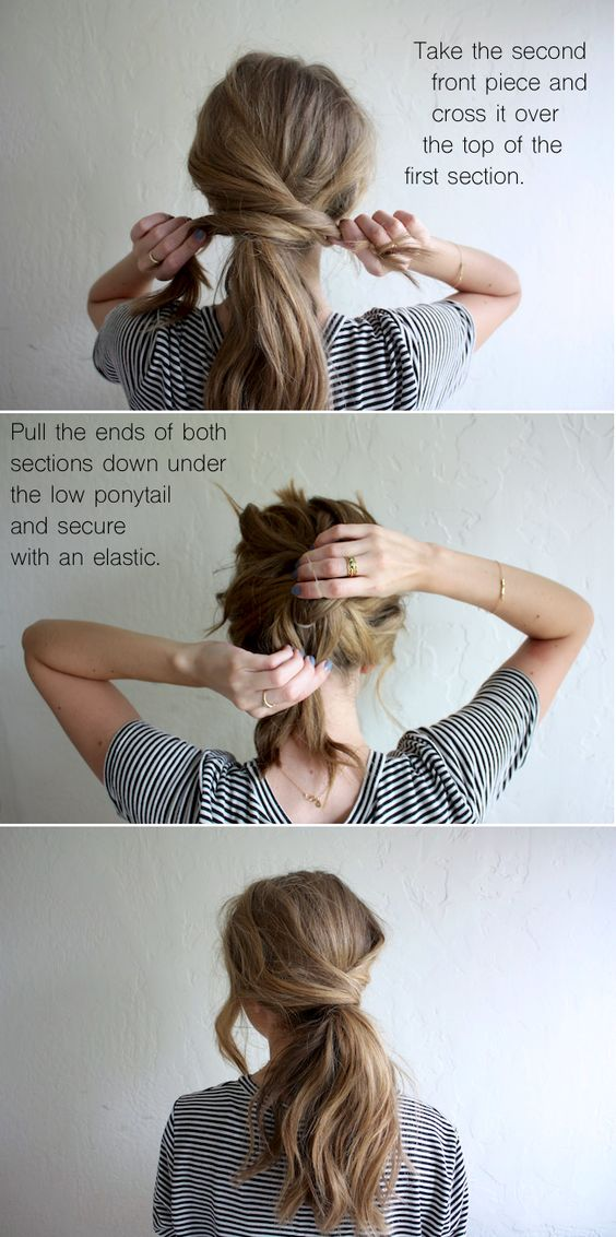 22 Cute Ponytails for Long amp; Medium Length Hair  Straight