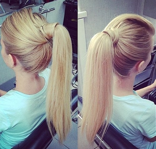 Delightful Cute Ponytails For Long U0026 Medium Length Hair