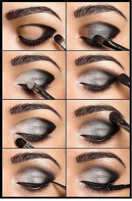 Eye makeup tutorial for beginners for brown skin