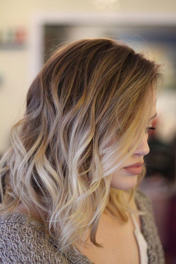 Balayage Hairstyles for medium hair