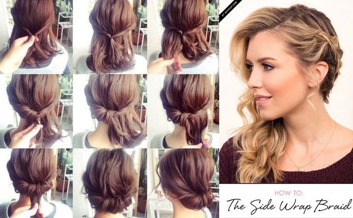 60 Easy Step By Step Hair Tutorials For Long, Medium And Short Hair   Her  Style Code