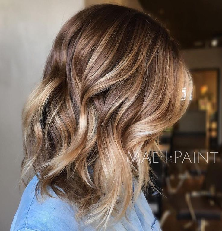 Light Brown balayage Hair Color Ideas Light Brown Hair with Highlights and Lowlights