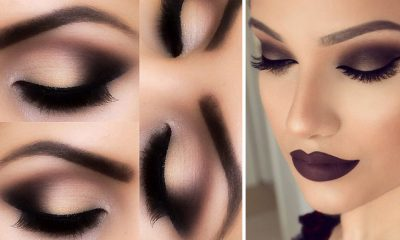 12 Easy Step By Step Makeup Tutorials For Blue Eyes Her Style Code - Grunge-makeup-ideas