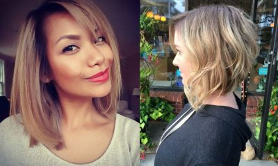 hottest best trendy bob hairstyles for women 40 Hottest Bob Hairstyles for Women- Inverted, Mob, Lob, Ombre, Balayage