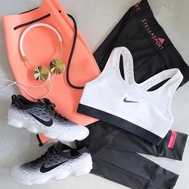 30 Cool Stylish Summer Workout Outfits for Women - Gym Outfit Ideas