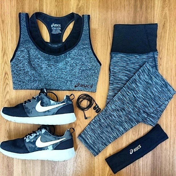 7bb6ad2a484b 30 Stylish Summer Workout Outfits for Women - Gym Outfits for Women