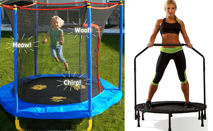 Trampolines for Kids & Adults