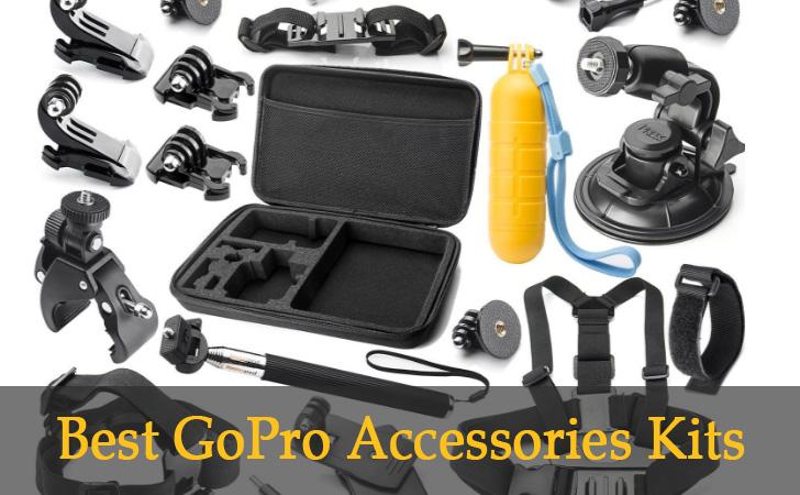 best GoPro Accessories Kits bundles 8 Best GoPro Accessories Kits 2021 - GoPro Accessories Bundle Reviews