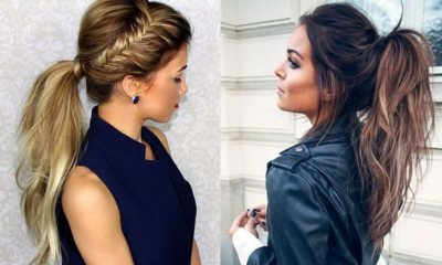 30 Simple Easy Ponytail Hairstyles For Lazy Girls U2013 Ponytail Ideas