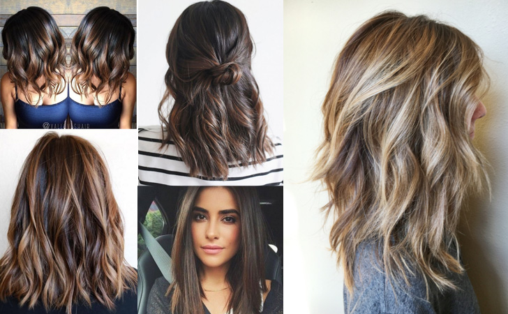 40 Amazing Medium Length Hairstyles & Shoulder Length Haircuts 2018