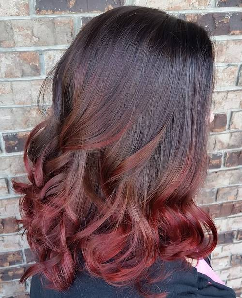 60 trendy ombre hairstyles 2017 brunette blue red purple best ombre hair color ideas urmus Choice Image