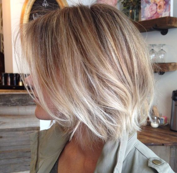 40 hottest bob hairstyles haircuts 2018 inverted mob for Ombre mittellang