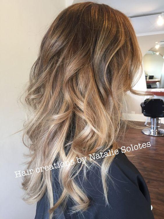 Easy Long Hairstyles - Long Balayage Hairstyles