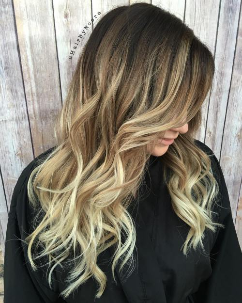 balayage hair style 50 amazing hairstyles amp cuts 2018 easy layered 1624