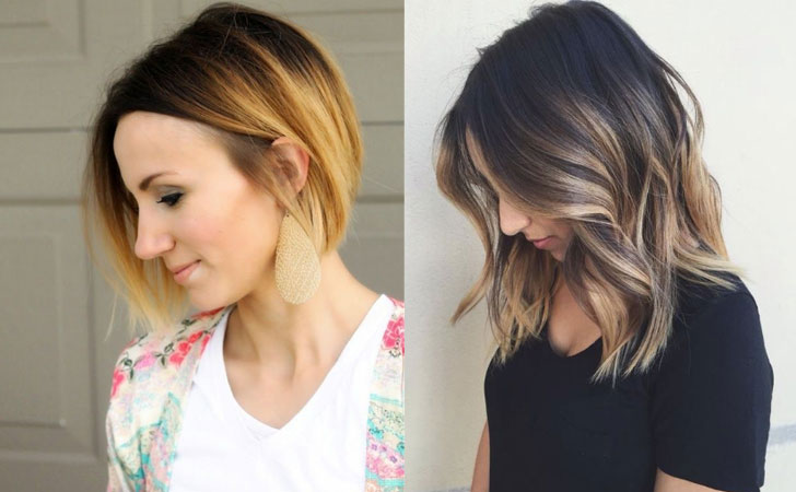 2018 Hairstyle For Dark Hair Color: 60 Trendy Ombre Hairstyles 2019