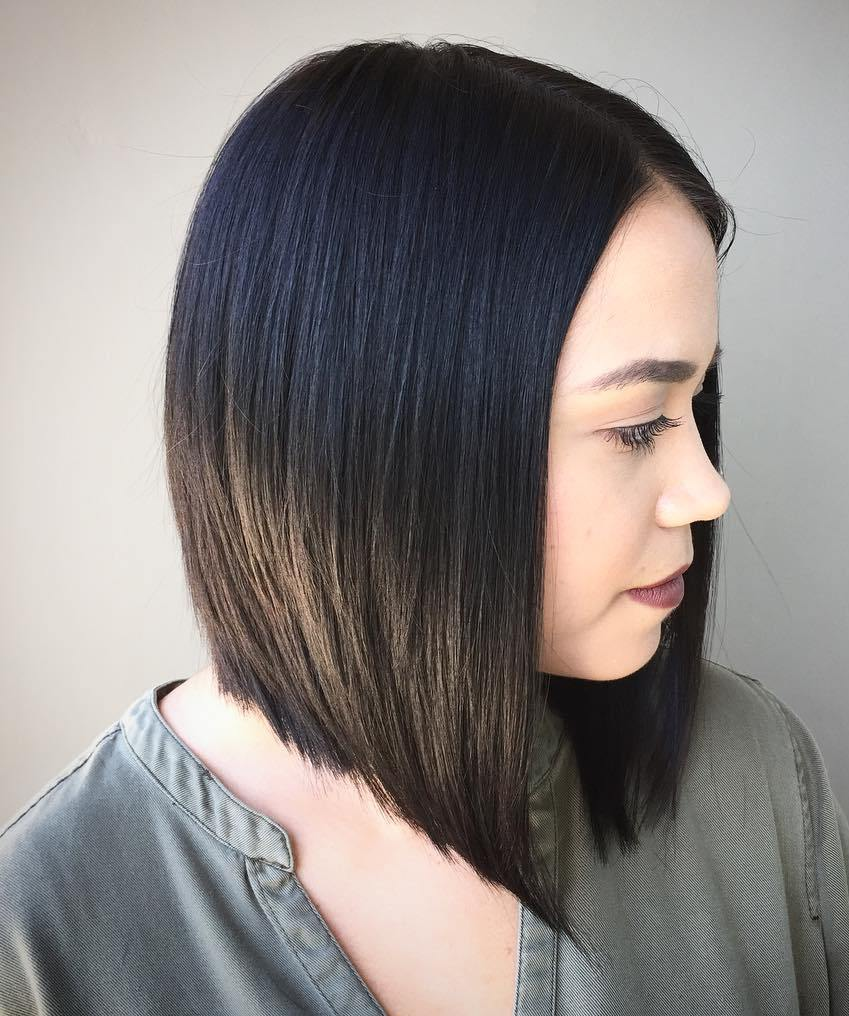 Medium Length Hairstyles For Straight Hair and try hairstyle at home
