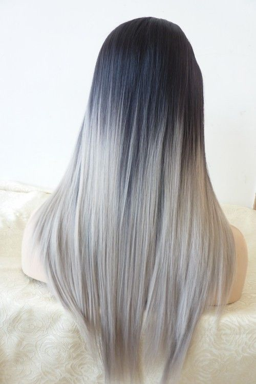 14 Trendy Ombre Hairstyles 14 - Brunette, Blue, Red, Purple ...