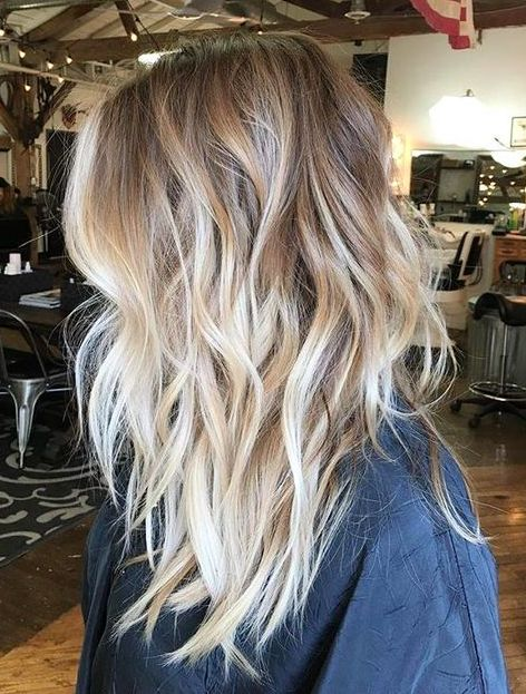 60 trendy ombre hairstyles 2017 brunette blue red purple medium length hair color ideas the brunette to blonde balayage ombre hair urmus Choice Image