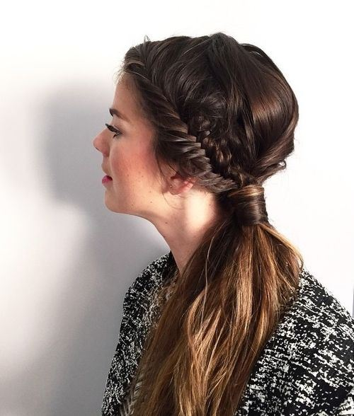 30 Simple Easy Ponytail Hairstyles for Girls - Ponytail Ideas 2019