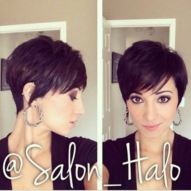 Messy Pixie Hairstyle With Bangs Haircuts