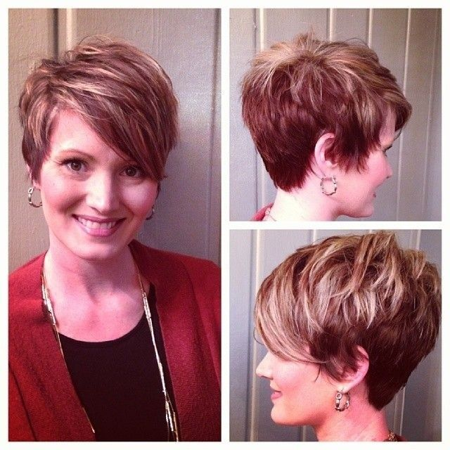 Best Short Haircut For Women Layered Messy Pixie Cut With Bangs