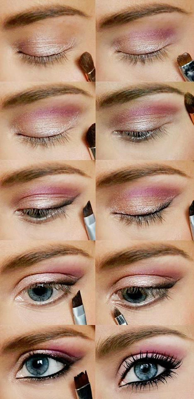 20 simple easy step by step eyeshadow tutorials for beginners her simple step by step eyeshadow tutorials ccuart Images
