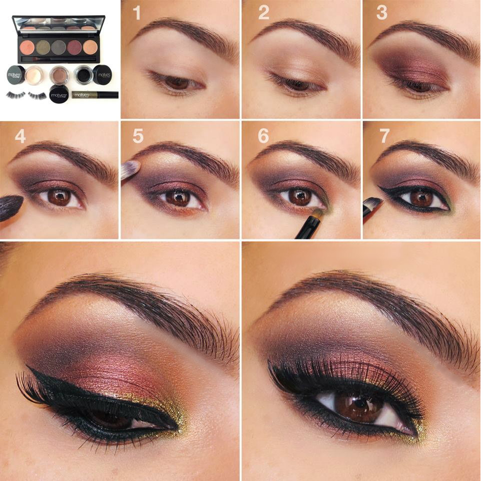 20 Easy Step By Step Eyeshadow Tutorials for Beginners ...