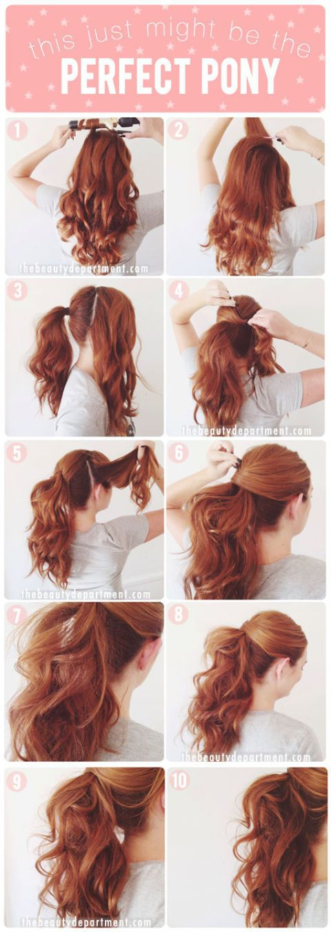 60 Easy Step by Step Hair Tutorials for Long, Medium and Short Hair ...