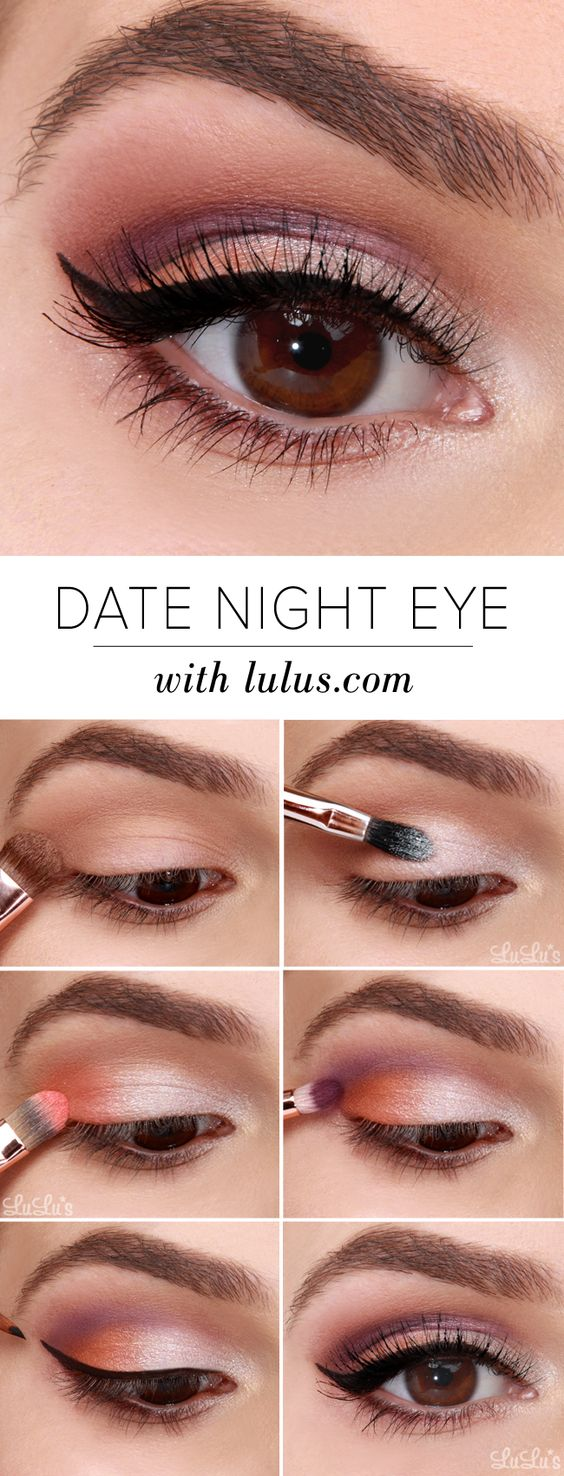 10 Easy Step By Step Makeup Tutorials For Brown Eyes