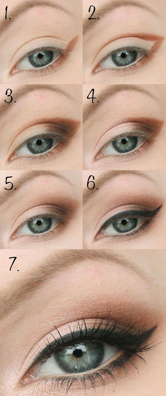 10 Step By Step Makeup Tutorials For Green Eyes Her Style Code