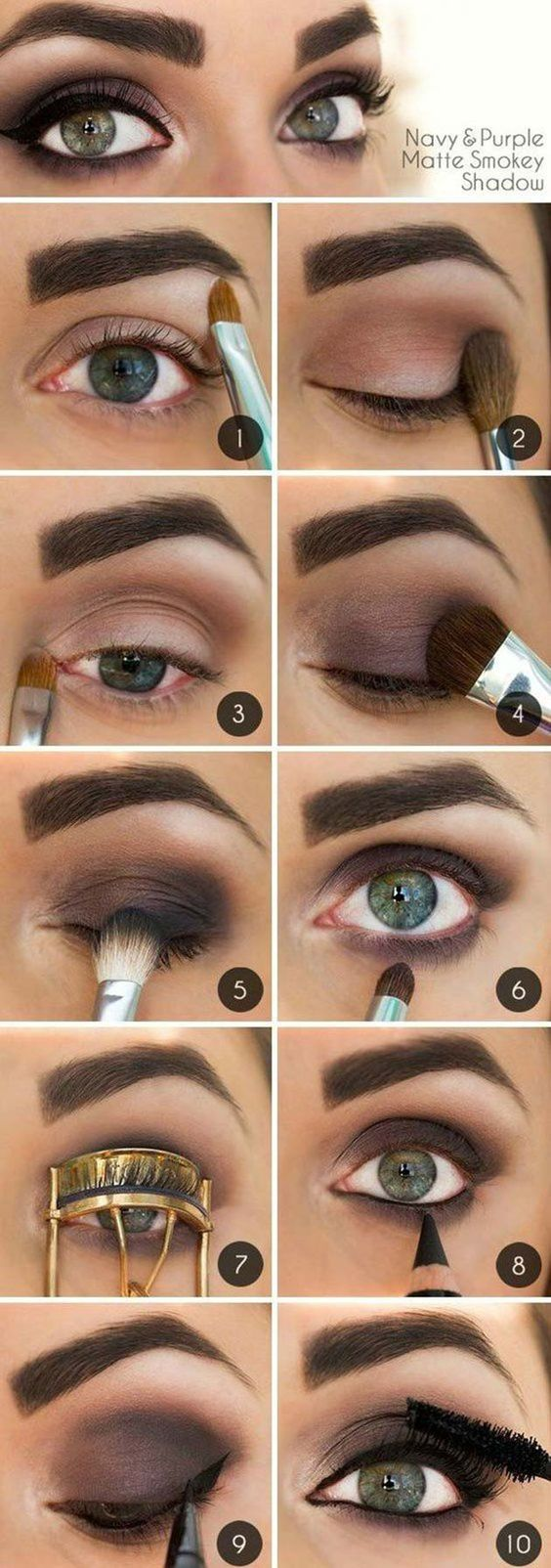 10 step by step makeup tutorials for green eyes her style code how to do a smokey eye for green eyes step by step baditri Gallery