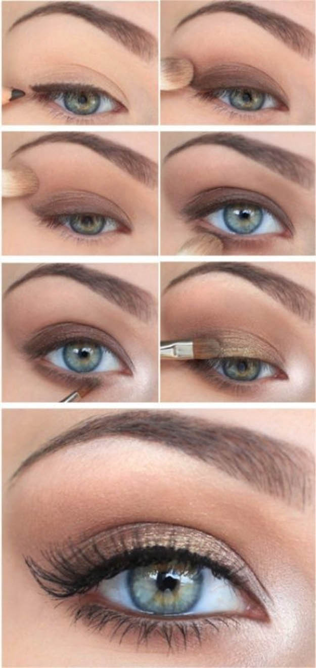 10 step by step makeup tutorials for green eyes her style code step by step makeup tutorials for green eyes baditri Images