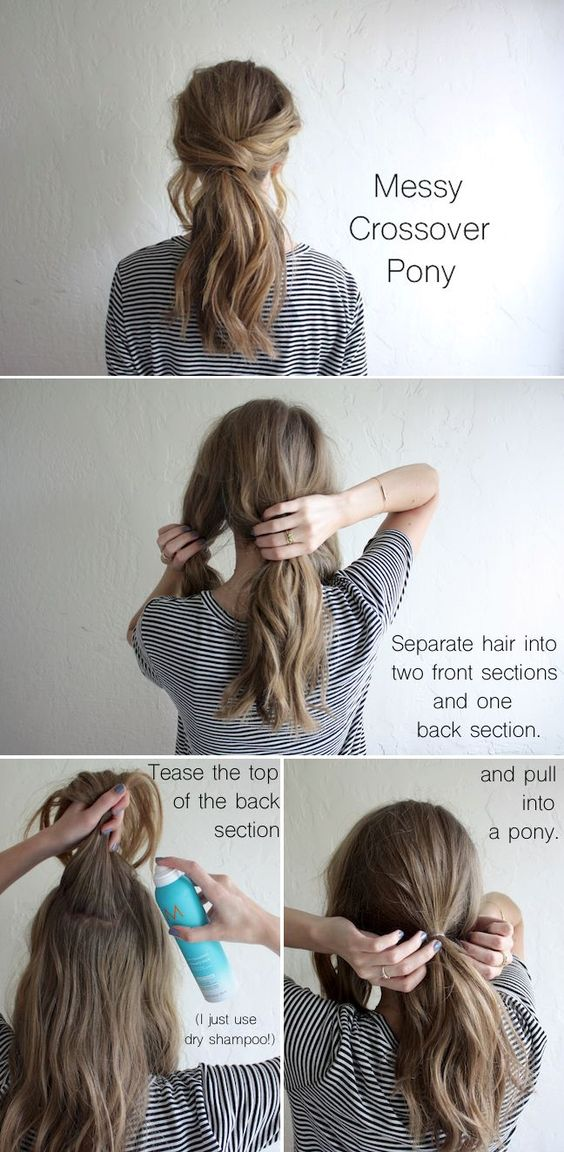 30 Simple Easy Ponytail Hairstyles For Lazy Girls